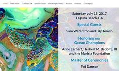 OMG! I am so excited. Just got this email last night:  We would love to feature one of your amazing pieces at our SeaChange Summer Partys July 2018 in Laguna Beach CA. For the past 10 years over 400 top art lovers philanthropists celebrities and taste-makers convene at a stunning oceanfront venue in Laguna Beach for a star-studded evening of celebrating the oceans many of our guests are your customers or are the potential clients you want to reach; your piece will receive recognition on the…