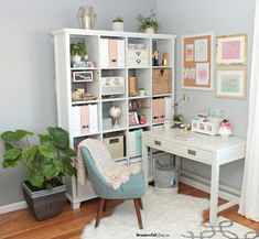 Glam Home Office Nook E Guest Room