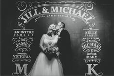Modern San Diego Museum Wedding: Jill + Mike chalkboard wall – perfect for a ceremony backdrop or photo booth! Wedding Photo Booth, Wedding Photos, San Diego, Diy Photo Backdrop, Photo Backdrops, Photography Backdrops, The Kelly Family, Dream Wedding, Wedding Day