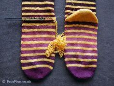 Bondehæl Addi Express, Knitting Socks, Yarn Crafts, Slippers, Handmade, Shoes, Crochet Ideas, Tips, Baby