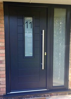 Buy Endurance composite doors through our approved installer network & Cottage Composite Door Safe Style UK Green and Black | My Home ... Pezcame.Com