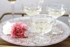 Valentine's Day Bart Cart: Glassware Details: AMarriedAdventure.com