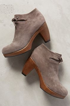 Coclico Nanette Clog Booties #anthrofave