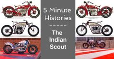 5 Minute Histories: The Indian Scout | eBay