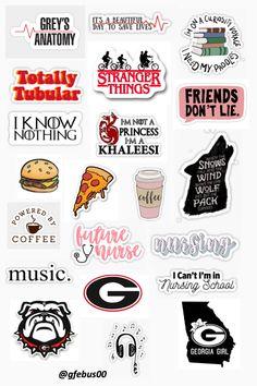 Gabriela Isanieris sticker template – - New Sites