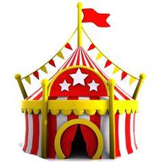 El Circo: Mini Kit para Imprimir Gratis.   Ideas y material gratis para fiestas y celebraciones Oh My Fiesta!