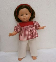Ensemble tunique et pantalon pour poupée de 36 cm - MCL Poupées