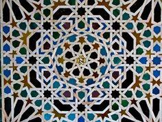 mosaic from Alhambra, Granada, Spain. smugmug
