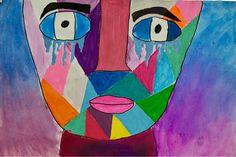 Kim & Karen: 2 Soul Sisters (Art Education Blog): FACES and Sally King Benedict Lesson