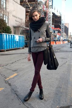 New York Fashion Week Fall 2012 Models @gtl_clothing #getthelook http://gtl.clothing