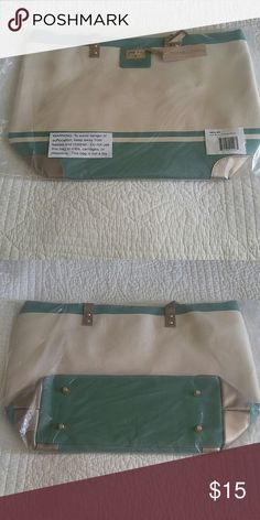 Creme de menthe tote bag Color says creme de menthe a cute green and off-white that would be a great Christmas gift Thursday Friday Bags Totes