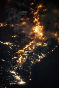 Southwestern Saudi Arabia at Night | (by NASA Goddard Space Flight…) Maysociety.com