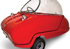 Peel Electric Micro Car – smallest electric car in the world?