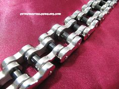 Surgical Steel Massive Black IP Center Chain Bracelet 23.5mm Wide