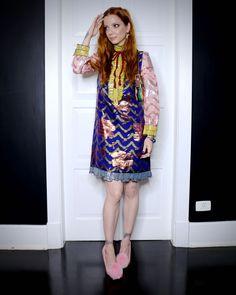 vestido Gucci, joias Sara Joias, sapatos Privileged Shoes, bolsa Fendi/ Peguei Bode