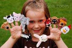 FREE Hand Puppet Patterns and Tutorials. | Gather