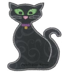This Halloween Cat is perfect for your applique needs. Only 1 fabric panel! Includes 4x4, 5x7 and 6x10.    4x4 hoop - 3.02 x 3.88, 5,211 stitches    5x7 hoop - 4.71 x 6.05, 8,332 stitches    6x10 hoop - 5.70 x 7.31, 10,322 stitches    A digital file will be sent containing the following formats: DST, EXP, HUS, JEF, PES, VIP, VP3, XXX, SEW & ART. If you are in need of a file not listed please contact me to see if it is available. Download links are sent via email to the Etsy email address on…