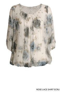 Roselace Shirt Ecru von KD Klaus Dilkrath #roselace #rose #lace #shirt #ecru #flower #free #airy #breezy #kdklausdilkrath #kd12 #summer #kdklausdilkrath #kd #dilkrath #kd12 #outfit