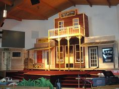 wild west stage VBS