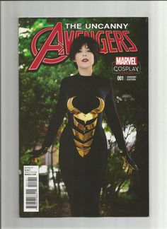 UNCANNY AVENGERS (V3) #1 Limited to 1 for 15 Wasp cosplay variant! NM  http://www.ebay.com/itm/UNCANNY-AVENGERS-V3-1-Limited-1-15-Wasp-cosplay-variant-NM-/301767473527?roken=cUgayN&soutkn=37wNIl