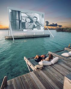 "23.9 mil Me gusta, 412 comentarios - Nature (@nature) en Instagram: ""Tag someone you would want to watch a movie with in this @nature paradise! ~ Maldives. Photo by…"""