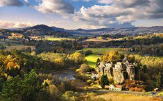 Landscape of Česká Lípa region with the castle Sloup (North Bohemia), Czechia Czech Republic, Nature Photos, Beautiful Landscapes, Monument Valley, Beautiful Places, Scenery, Places To Visit, Vacation, European Countries