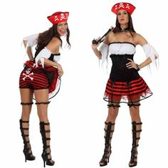 Disfraz Mujer Pirata Talla M-L