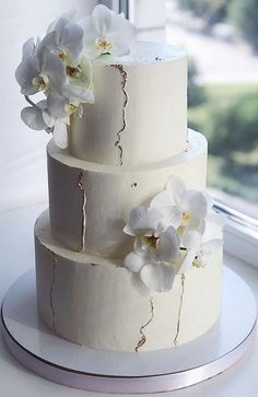 Amazing Wedding Cakes, Elegant Wedding Cakes, Elegant Cakes, Wedding Cake Designs, Cake Wedding, Wedding Themes, Wedding Colors, Rustic Wedding, Easy Wedding Cakes