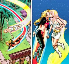 scans_daily | A quick look back at the Julie Power/Karolina Dean romance