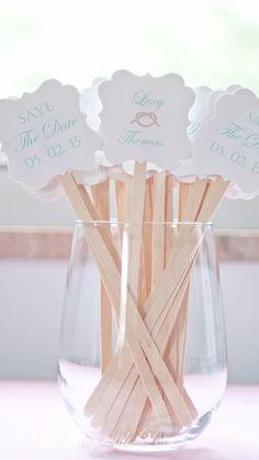 Tying the knot - Nautical wedding - Drink Stirrers - Wedding Inspiration - Signature Drinks www.somethingwithlove.etsy.com www.somethingwithlove.com
