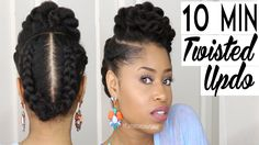 Hello ladies, just because we didn't come up withit, that doesn't mean we can't rock it. I find this protective hairstyle fairly easy to replicate, it's apowerfulstyle for anyone who's looking for something that is easy to do and stylish as well. It involves littl…
