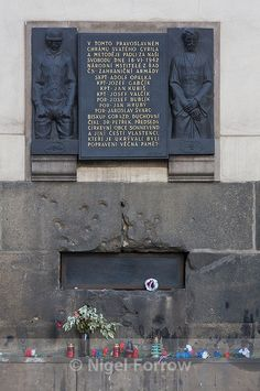Memorial to the Assassins of Nazi Reinhard Heydrich- Prague, Czech Republic Frederick The Great, The Last Kingdom, Memorial Museum, The Third Reich, Someone Like You, Prague Czech, Most Beautiful Cities, Great Friends, Prague