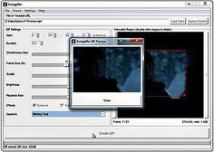 Instagiffer: crea gifs animados desde vídeos, screencasts o imágenes