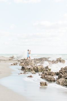 Crashing waves, sunny beaches, in love with each other & in love with life // Photography: Shea Christine