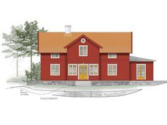 Cottage Style, Old Houses, Sweet Home, Floor Plans, Exterior, House Styles, Building, Design, Inspiration