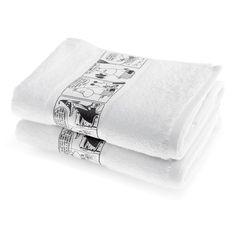 The new whitehandtowel by Finlayson presents a stylish comic stripfeaturingMoominmamma. The towel is made of 100 % cotton and is a great companion at home or at the summer cottage. Size 50 x 70 cm.Finlaysonin uudistuneen pyyhemallistonvalkoisenkäsipyyhkeen sarjakuvastripin kuvituksessa nähdään Muumimamma. Pyyhe on 100 % puuvillaa ja se sopii yhtä hyvin kotiin kuin kesämökillekin. Koko 50 x 70 cm.Fräsch vit handduk med Muminmamma seriestrip. Handduken är 100% bomull och passar perfekt…