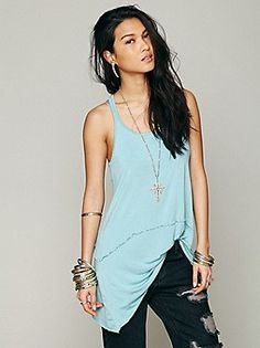 Gypsy Junkies Axel Caplet Tank at Free People Clothing Boutique
