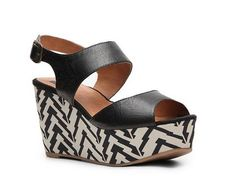 BC Footwear Eagle Eyes Wedge Sandal All Women's Clearance Clearance - DSW