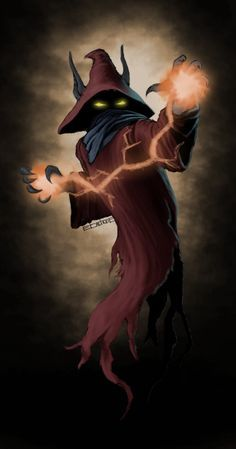 Orko (Deviant art). I like the concept of Orko  being serious & intimidating.