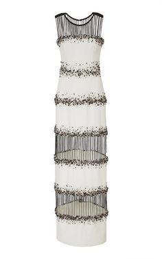Elizabeth Kennedy column gown