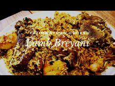 South African Recipes, Indian Food Recipes, Real Food Recipes, Cooking Recipes, Lamb Biryani Recipes, Curry Recipes, Rice Recipes, Good Food, Yummy Food