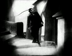 "Emil Jannings as Mephisto in F.W. Murnau's ""Faust"""