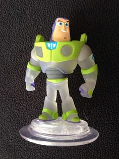 Disney Infinity Crystal Clear BUZZ LIGHTYEAR TRU Toys R Us EXCLUSIVE LOOSE  New