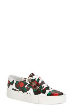 TOGA PULLA Flower Print Low Top Sneaker (Women)