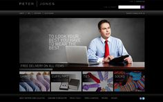 Peter Jones is one of Britain's most popular entrepreneurs with a proven business track record and a growing portfolio of investments in dynamic ventures.   Wickedweb are thrilled to work with Peter Jones on the launch of his new collection of business apparel.