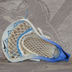 #LacrosseUnlimited Featured Marcus Holman Carolina Complete Head. #lacrosse #alwaysCustom #Nike