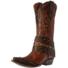 Laredo Tygress 52031(Women's) -Camel Leather High-Quality Cheap MMr0I