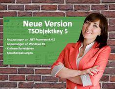 Neue Version Schlüsselverwaltung TSObjektkey 5