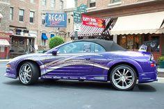 Mauerblümchen: Den Mitsubishi Eclipse GS-T Spyder gab es offiziell nicht mal als geschlossene Version bei uns. Im Serienzustand dübelt so ei...