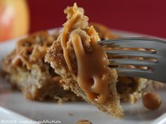 Carmel Apple Bars